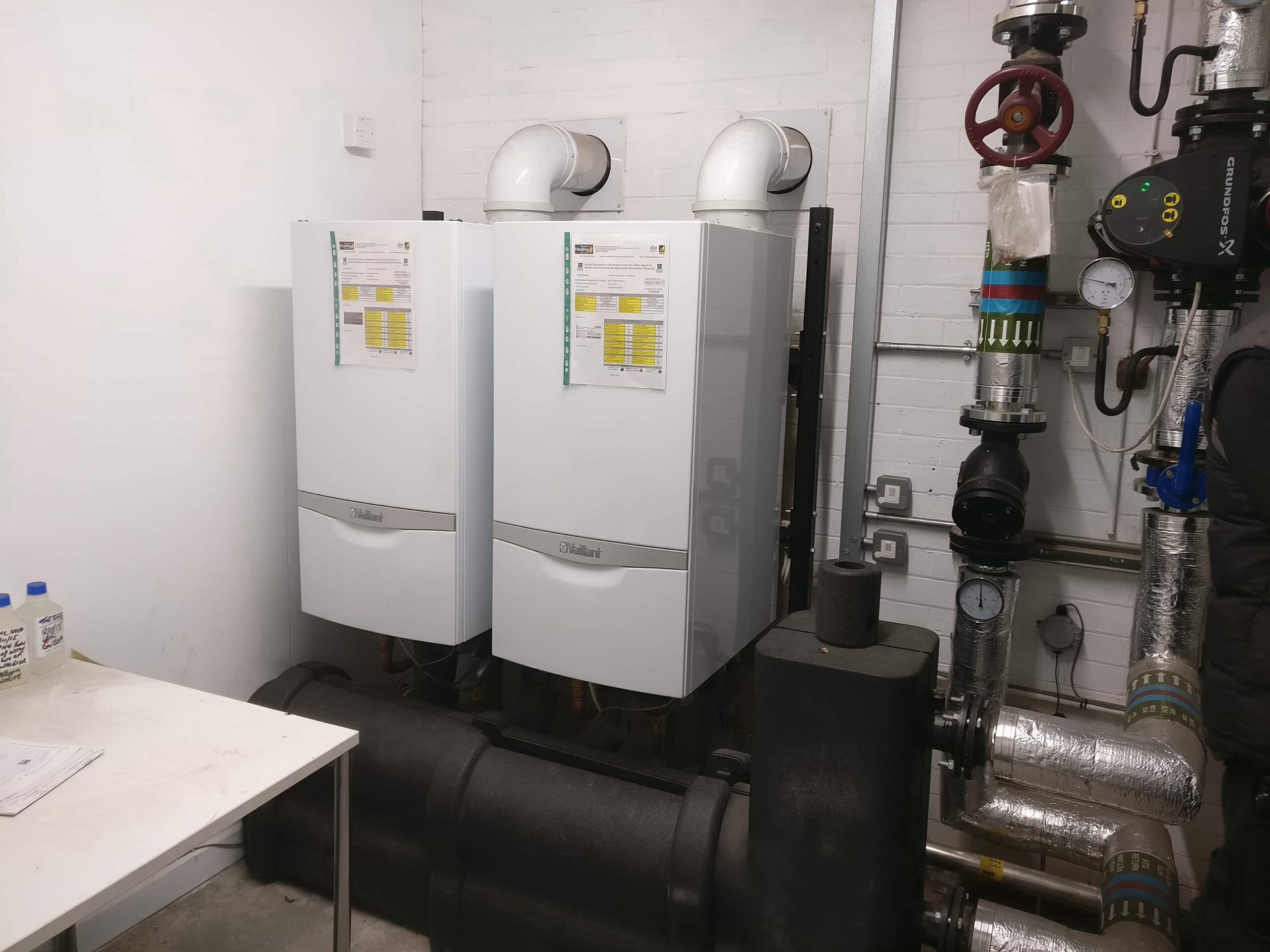 commercial gas heating engineers near me